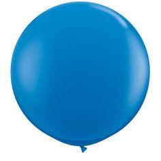 Ballon Géant Bleu #Ballonsfêtes #Sculpturesurballons