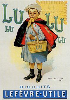 AFFICHE ANCIENNE PUBLICITE......LUSILE17.CENTERBLOG.NET.....