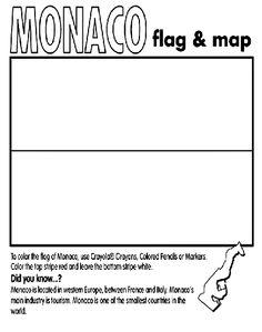 Good Crayon Coloring Pages 84 Monaco coloring page