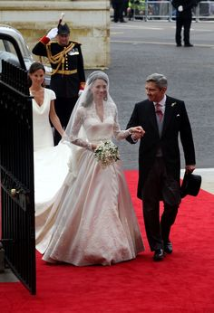Kate Middleton and Michael Middleton Photo - Royal Wedding: Close Ups of Kate Middleton