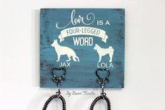 DIY Dog Leash Holder | Dawn Nicole Designs®