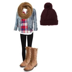 Simple & Cute Fall Outfit.