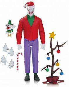 "Увеличить ""Фигурка Джокера — DC Collectibles Batman The Animated Series Christmas with The Joker"""