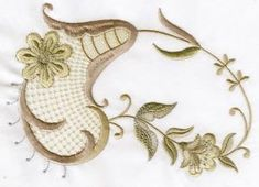 VINTAGE CHIC | OregonPatchWorks Custom Embroidery, Embroidery Thread, Machine Embroidery Designs, Free Design, Brooch, Chic, Vintage, Scrappy Quilts, Shabby Chic