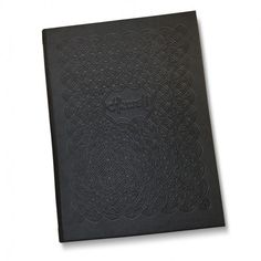 The Labyrinth Menu Covers. The Smart Marketing Group - Intricate guest room folders for a quality feel. Welcome your guests in style.