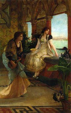 Bellezas venecianas, obra de Vicente Palmaroli