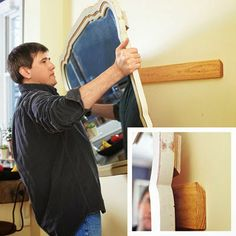 Awesome Tip To Hanging Heavy Wall Hangings.