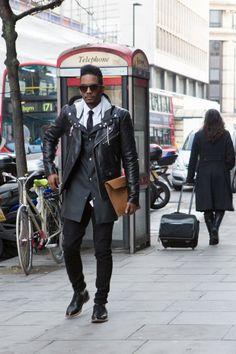 London Collections: Men Street Style - Mens Fashion Magazine
