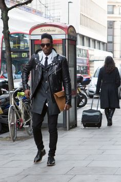 London Collections: Men Street Style - Mens Fashion Magazine