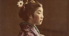 richardhaberkern.com http://soundlazer.com #Traditional Gorgeous hand-colored photos capture Japan on the brink of modernity