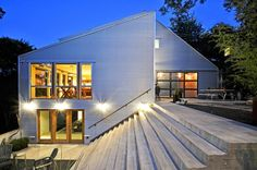 Mt. Bonnell Remodel by Mell Lawrence Architects...Austin has some pretty talented architects.