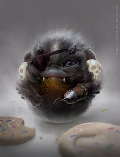 Fluffy cheekbooms: Ze Cookie Piratz! by albino-Z.deviantart.com on @deviantART