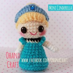 Mini Cinderella crochet pattern