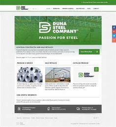 screenshot of duna-steel. Website Analysis, Seo, Social Media, Dune, Social Networks, Social Media Tips