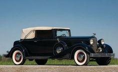 1933 Cadillac V16 Convertible Victoria