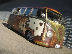 The VW bus Festus Blowtorch. I talked with the owner back in 2011 and thought about buying it. Hope it's in a good home now.