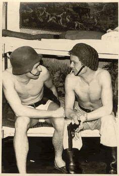 german barracks underwear - Google Search Ww2 Photos, Wwi, Sumo, Underwear, German, Wrestling, Google Search, Sports, Deutsch