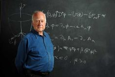 Peter Higgs, theoretical physicist.