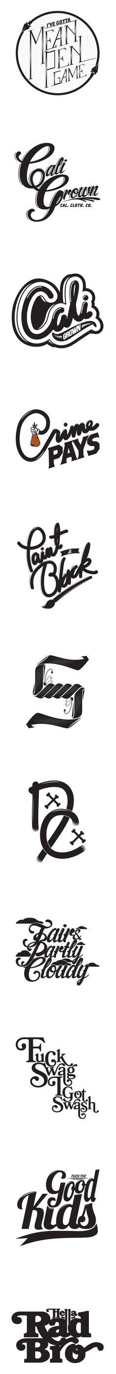 平面插画设计:字体,图形,设计 ——