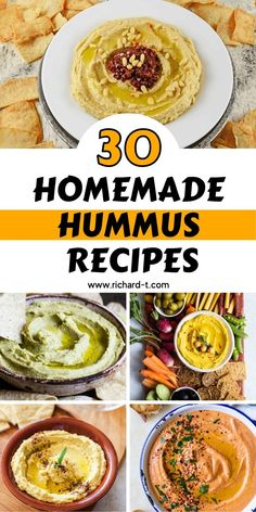 Today I woke up thinking about hummus for no apparent reason, and I kept thinking about it all day long! And for this reason, I have decided to put together a post containing some of the most amazing homemade hummus recipes! Hummus is one of those delicious things that you can easily make yourself and serve up at any type of party, event, or even just at home with your family and friends. Its healthy, homely and loved by all! Vegetarian Lifestyle, Homemade Hummus, Hummus Recipe, Make It Yourself, Eat, Healthy, Recipes, Hummus, Recipies