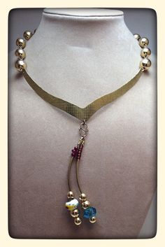 A personal favorite from my Etsy shop https://www.etsy.com/listing/225664867/make-a-statement-with-vintage-beads