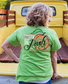 Pretty as a Peach | southernology.com How many of us can say we have heard this Southern Sayin' Well aren't you just as Pretty As A Peach. #Southernology #ShopSouthernology #Southern #SouthernShirts #SouthernTShirts #SouthernSayin #SouthernSayins #PrettyAsAPeach