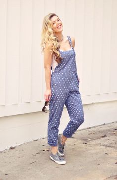 women's overalls, polka dot overalls -- y'all don't understand how much I want some overalls