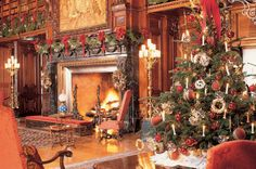 Getting ideas from Asheville's Biltmore on how to decorate our living room.