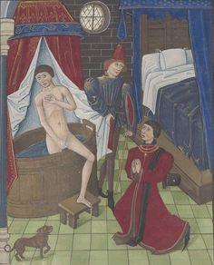 L'hygiène au Moyen Age, tous au bain ! Le savon qui fait la peau douce   Raconte-moi l'Histoire