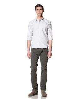 75% OFF Bespoken Men's Tie Placket Stripe Shirt