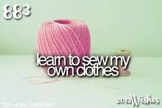 Start learning Couture methods.