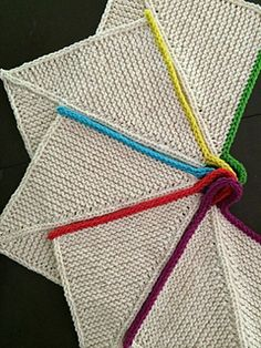 Sinkmates by Lorilee Beltman - cute dishcloth pattern #knitting #dishcloth