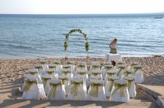 Pefkos Beach wedding