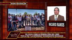 """INICIA FERIA DEL LIBRO """"POR LA PAZ Y LA ESPERANZA"""" EN MICHOACÁN"""