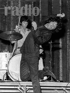 John Densmore and Jim Morrison