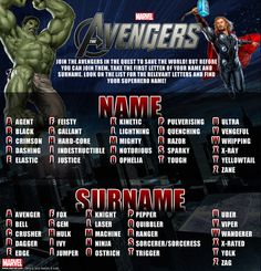 Avengers name generator. The Mighty Trigger. Not sure what's so mighty about a trigger.... But I guess I'll find out.