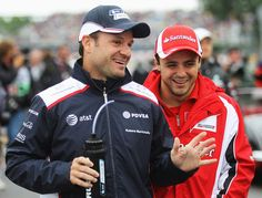 Barrichello & Massa