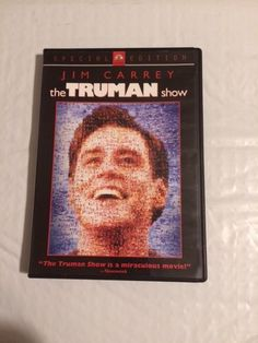 The Truman Show (DVD, 2005, Special Collector's Edition)Jim Carey,Ed Harris