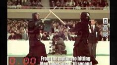 Kendo in High Speed Camera(Slow Motion) - YouTube