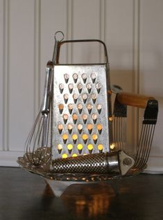 Cheese Grater Kitchen Light!