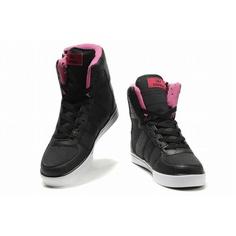 82217dac1d69 2011 New Supra Skytop High Tops Black Pink Women s http   www.