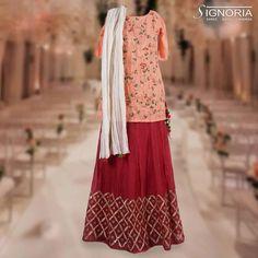 Traditional Skirt with short kurti and dupatta. Product Code - A5 For price and further information, contact +91 9660590061  #signoria #sarees #suits #lehengas #skirt #kurti #dupatta #traditional #classy #clothingbrand #weddingdresses #designerclothes #ethnicwear #fashion #grace #womenfashion #jaipurfashion #cityshorjaipur #jaipurdiaries #tailoria #jaipur #rajasthan #india
