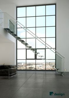 Carbon Fibre Stairs by Geoffrey Packer at Coroflot.com
