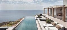 Ενα σπίτι-όνειρο στη Σύρο -Μίνιμαλ και μποέμ με θέα το γαλάζιο του Αιγαίου [εικόνες]