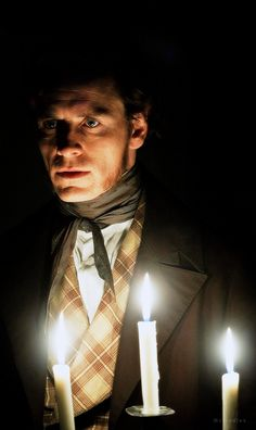 Michael Fassbender as Mr. Rochester in Jane Eyre.
