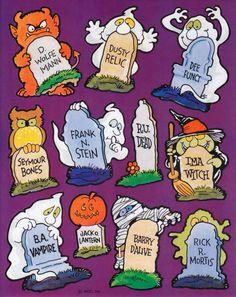 Vintage Sheet of Stickers - American Greetings - Halloween - Mint Condition! Halloween Ii, Halloween Pictures, Halloween Horror, Holidays Halloween, Halloween Decorations, Vintage Halloween Images, Halloween Illustration, Childhood Days, Halloween Stickers