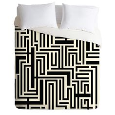 Khristian A Howell Meander Duvet Cover | DENY Designs Home Accessories