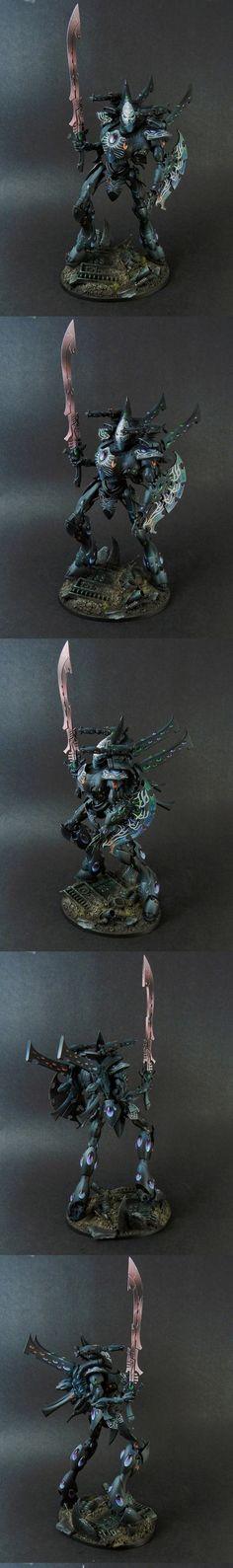 Eldar Wraithknight Death Jester Style