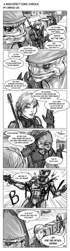 Mass Effect Comic - Curious by 1-Ace