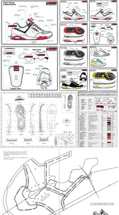 Shoe Designers Specification Pack: For Download - How Shoes are Made - The Sneaker Factory